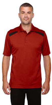 Ash City - Extreme Men's Eperformance Tempo Recycled Polyester Performance Textured Polo - CLASSIC RED 850 - 4XL 85112