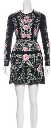 Needle & Thread Embroidered A-Line Dress