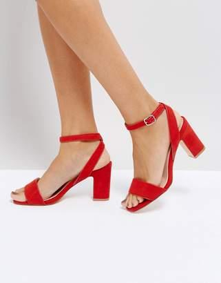 Coco Wren Mid Block Heel Sandal