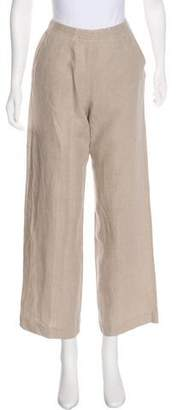 Max Mara High-Rise Linen Pants