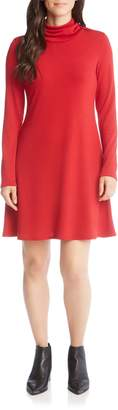 Karen Kane Turtleneck A-Line Dress
