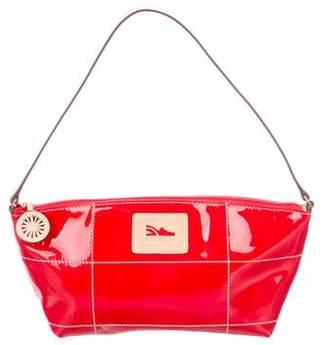Salvatore Ferragamo Leather-Trimmed Shoulder Bag