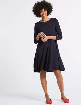 Marks and Spencer 3/4 Sleeve Swing Dress