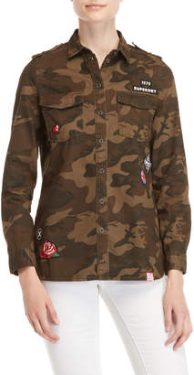 Superdry Military Camo Patchy Shirt