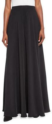THE ROW Anissa Silk Palazzo Pants $1,390 thestylecure.com