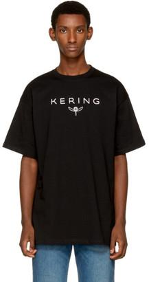 Balenciaga Black 'Kering' T-Shirt $285 thestylecure.com