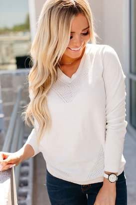 Ampersand Avenue Quinn Sweater - Ivory