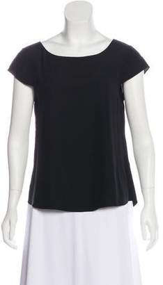 Alice + Olivia Silk Cap Sleeve Top