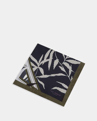Ted Baker OXTED Floral print silk pocket square