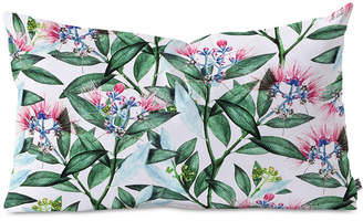 Deny Designs 83 Oranges Floral Cure One Oblong Throw Pillow