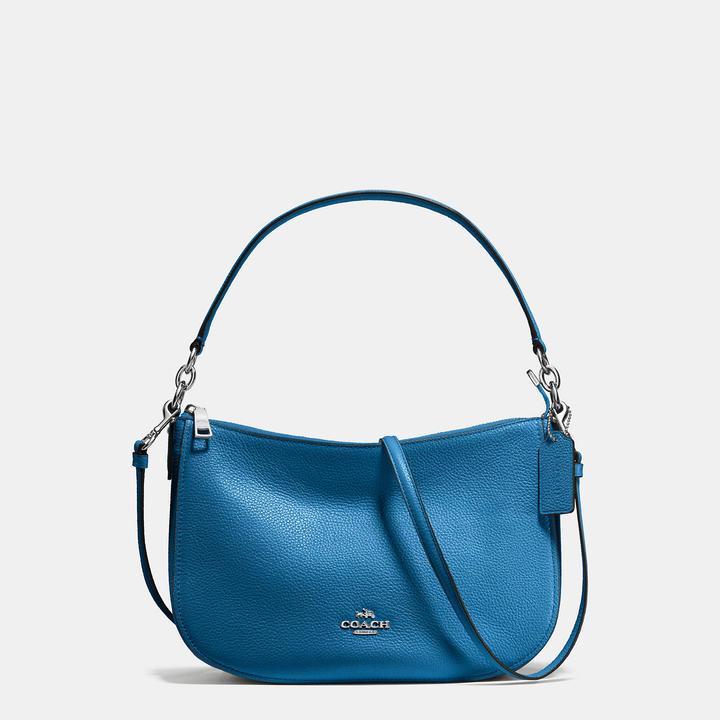 Coach  COACH Coach Chelsea Crossbody In Polished Pebble Leather