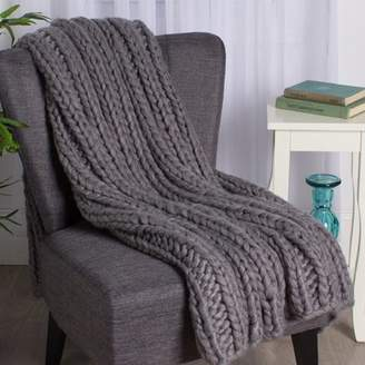 Laurèl Kate and Chunky Knit Throw