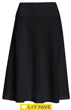 Nic+Zoe Flared Midi Skirt