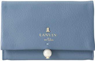 LANVIN en Bleu (ランバン オン ブルー) - ランバン オン ブルー シャペル 名刺入れ