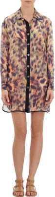 We Are Handsome Cheetah Sheer Cover-up