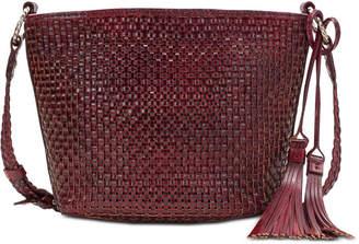 Patricia Nash Banyoles Woven Leather Crossbody