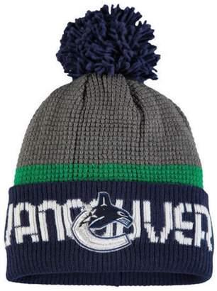 Reebok Vancouver Canucks Cuffed Pom Knit Toque