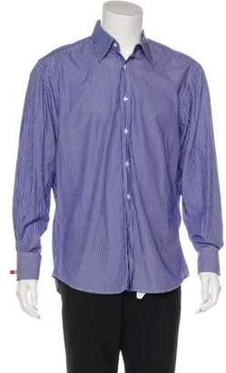 Valentino Striped French Cuff Shirt
