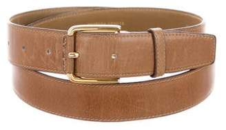 Bottega Veneta Brown Leather Belt