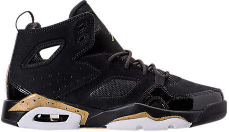 Boys' Grade School Air Jordan Flight Club '91 Basketball Shoes, Black