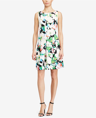 American Living Floral-Print Neoprene Dress $79 thestylecure.com