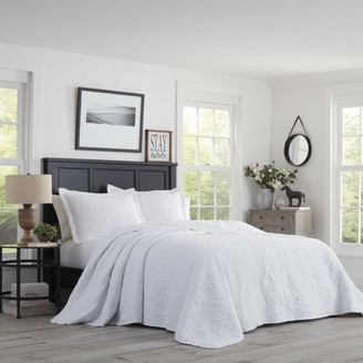 Stone Cottage Burch White Bedspread Set, Queen