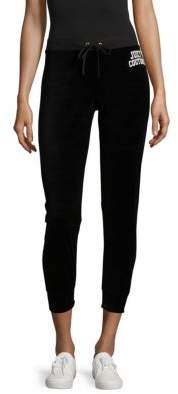 Juicy Couture Logo-Print Cropped Pants