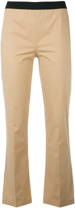 Twin-Set flared trousers $123.02 thestylecure.com
