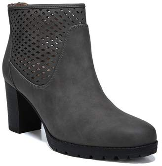 Naturalizer SOUL Nelly Laser-Cut Bootie - Wide Width Available