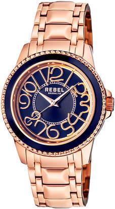 Rebel Brooklyn Men's Williamsburg Bracelet Watch, Rose Golden