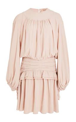N°21 N 21 Felicina Crepe De Chine Dress