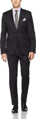 HUGO BOSS HUGO Men's 2 Button Contemporary Slim Fit Suit