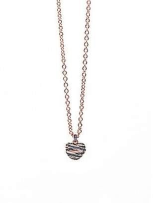 GUESS Women Pink Pendant Necklace of Length 42cm UBN21611