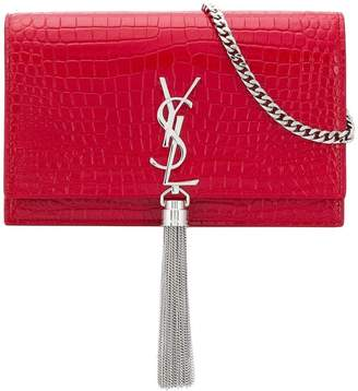 Saint Laurent Monogram envelope crossbody bag