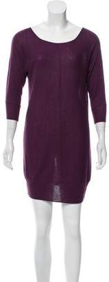 Hinge Crew Neck Sweater Dress