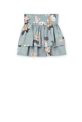 Country Road Tropical Floral Skirt