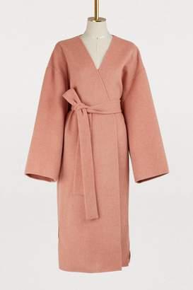 Acne Studios Wool and cashmere kimono coat