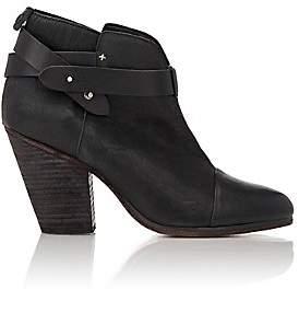 Rag & Bone Women's Harrow Leather Ankle Boots - Black