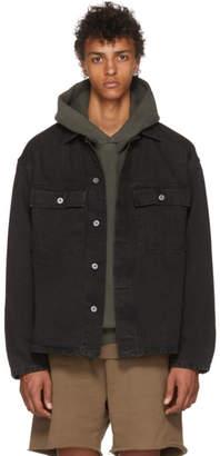 Yeezy Black Denim Workwear Shirt