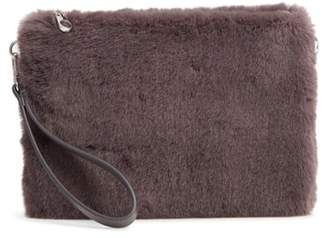 Chelsea28 Astley Faux Fur Convertible Clutch