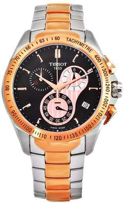 Tissot Men's T0244172205100 Veloci-T Stainless-Steel Quartz Dial Watch