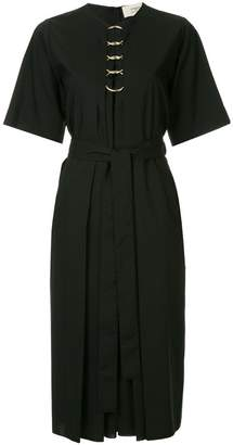 Ports 1961 O-ring detail belted dress