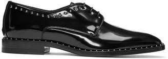 Jimmy Choo Black Stefan Studded Derbys
