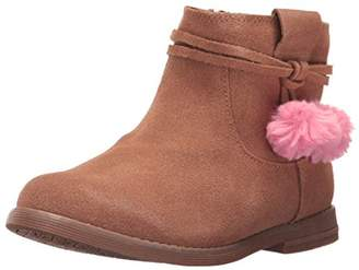 Hanna Andersson Girls' Runa Pom Ankle Boot