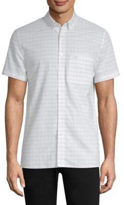 Lacoste Slim-Fit Short-Sleeve Shirt