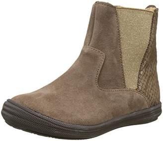 Minibel Girls' Nelia Chelsea Boots Brown Size: 8UK Child
