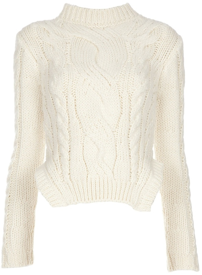 Carven Cable knit sweater