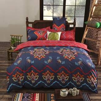 Kadell 3pcs/ Set Classical Flowers Winter Warm Bedding Sets Comforter Quilt Covers Sheet + Pillow Case Bed Linen Sets Bedclothes Bedspread
