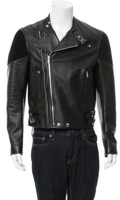 Givenchy Leather & Suede Moto Jacket