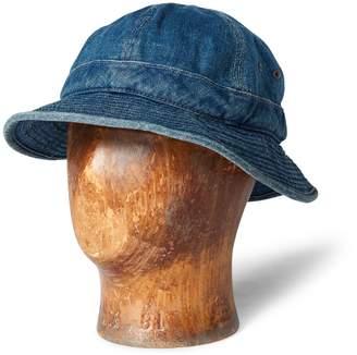 Ralph Lauren Indigo Linen-Cotton Deck Hat